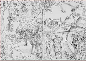 Lucas Cranach the elder and workshop allegory of the law and the gospel