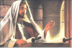 선지자 이사야의 글을 드리거늘 책을 펴서 이렇게 기록된 데를 찾으시니 곧(눅 4:17)