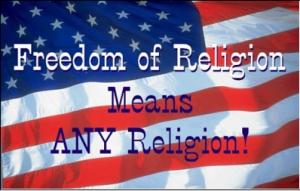 오늘 미국의 종교의 자유는 단지 제1계명이 금한 종교혼합주의를 의미할 뿐이다.