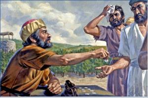 내 것을 가지고 내 뜻대로 할 것이 아니냐? 내가 선하므로 네가 악하게 보느냐?(마 20:15)