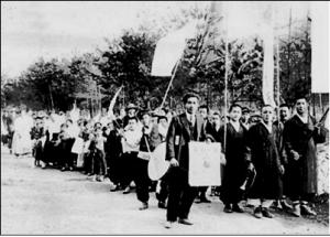 1920년대 조선기독교절제회 금주와 구습타파 가두시위