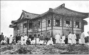 한국 최초의 평양신학교와 신학생들, 초대 교장 마포 삼열(Samuel A Moffett)