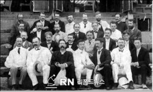 제1회 장로회공의회(1901년 9월) 회원 일동